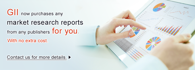 GII now purchases any market research reports from any publishers for you.