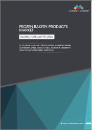 Frozen Bakery Products Market by Type (Bread, Pizza Crusts, Cakes & Pastries), Distribution Channel (Conventional Stores, Specialty Stores), and Form of Consumption (Ready-to-Proof, Ready-to-Bake, Ready-to-Eat) - Global Forecast to 2026