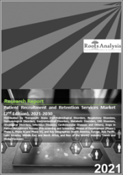Patient Recruitment and Retention Services Market (2nd Edition) by Therapeutic Areas (Cardiovascular Diseases, Oncological Disorders, Infectious Diseases, CNS Disorders, Respiratory Disorders, Hematological Disorders and Others),