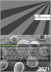 CAR-T Cell Therapies Market (3rd Edition) by Target Indications (NHL, Multiple Myeloma, Chronic Lymphocytic Leukemia, Acute Lymphoblastic Leukemia, Follicular Lymphoma, Mantle Cell Lymphoma, Hepatocellular Carcinoma and Others),