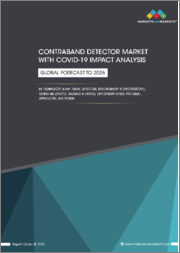 Contraband Detector Market with COVID-19 Impact Analysis by Technology ( X-ray,Metal, Spectroscopy), Screening Type (People, Baggage & Cargo, Vehicle), Deployment Type (Fixed, Portable), Application and Region - Global Forecast to 2026