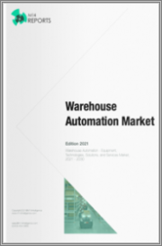 Warehouse Automation - Robots, Technologies, and Solutions Market, 2021 - 2030