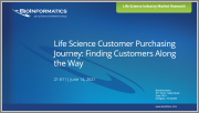 Life Science Customer Purchasing Journey: Finding Customers Along the Way