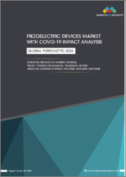 Piezoelectric Devices Market with COVID-19 Impact Analysis by Material (Piezoelectric Ceramics, Polymers), Product (Piezoelectric Actuators, Transducers, Motors), Application (Aerospace & Defense, Industrial, Consumer), & Region-Global Forecast to 2026