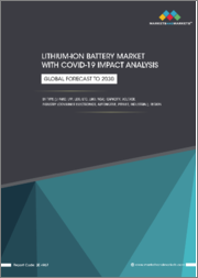 Lithium-Ion Battery Market with COVID-19 Impact Analysis, by Type (Li-NMC, LFP, LCO, LTO, LMO, NCA), Capacity, Voltage, Industry (Consumer Electronics, Automotive, Power, Industrial), & Region (North America, Europe, APAC & RoW)- Global Forecast to 2030