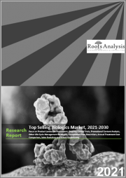 Top Selling Biologics Market, 2021-2030: Focus on Product Landscape Assessment, Ongoing Clinical Trials, Promotional Content Analysis, Other Life Cycle Management Strategies, Competition from Biosimilars,
