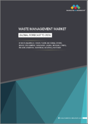 Waste Management Market by Waste (Hazardous, E-waste, Plastic, Bio-medical), Service (Open dumping, Incineration, Landfill, Recycling), End User (Residential, Commercial, Industrial) and Region - Global Forecast to 2026