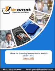 Global Pet Grooming Services Market By Type (Bathing & Brushing, Nail Trimming, and Other Types), By Application (Commercial and Household), By Regional Outlook, COVID-19 Impact Analysis Report and Forecast, 2021 - 2027