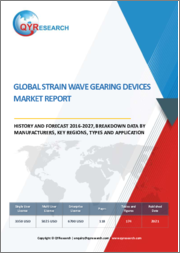 Global Strain Wave Gearing Devices Market Report, History and Forecast 2016-2027