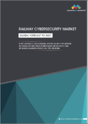Railway Cybersecurity Market by Type (Infrastructural & On-board), Offering, Security Type (Network, Application, Endpoint, System Administration and Data Protection), Application (Passenger & Freight), Rail Type and Region - Global Forecast to 2027