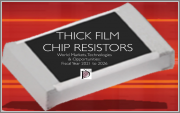Thick Film Chip Resistors: World Markets, Technologies & Opportunities: 2021-2026