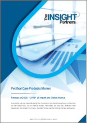 Pet Oral Care Products Market Forecast to 2028 - COVID-19 Impact and Global Analysis By Animal ; Product ; End User ; Distribution Channel, and Geography