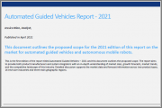 Automated Guided Vehicles Report - 2021