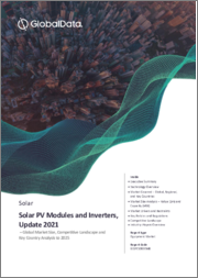 Solar Photovoltaic (PV) Modules and Inverters, Update 2021 - Global Market Size, Competitive Landscape and Key Country Analysis to 2025