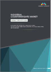 Industrial Counterweights Market by Type (Swing Counterweight, Fixed Counterweight), Material (Steel & Iron, Concrete), Application (Elevators, Cranes, Forklift, Excavators, Lifts, Grinding Wheels), End User, and Region-Global forecast to 2026