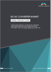 DC-DC converter Market by Vertical, Form Factor (SIP, DIP, DIN Rail, Box, Chassis Mount, Discreter, Brick), Input Voltage, Output Voltage, Output Power, Output Number, Product Type, Isolation Working Voltage and Region - Forecast to 2026