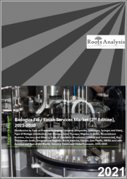 Biologics Fill / Finish Services Market (2nd Edition) by Type of Primary Packaging Container (Ampoules, Cartridges, Syringes and Vials), Type of Biologic (Antibodies, Cell Therapy, Gene Therapy, Oligonucleotides, Recombinant Proteins,