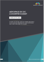 Aircraft DC-DC Converter Market by Application, Aircraft Type (Fixed Wing, Rotary Wing, Unmanned Aerial Vehicles, Air Taxis), Form Factor, Input Voltage, Output Voltage, Output Power, Output Number, Type, and Region - Forecast to 2030
