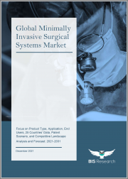 Global Minimally Invasive Surgical Systems Market: Focus on Product Type, Application, End Users, 25 Countries' Data, Patent Scenario, and Competitive Landscape - Analysis and Forecast, 2021-2031