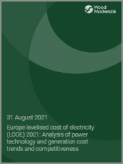Europe Levelised Cost of Electricity (LCOE) 2021: Analysis of Power Technology and Generation Cost Trends and Competitiveness
