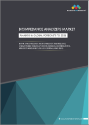 Bioimpedance Analyzers Market by Type (Single-frequency, Multiple-frequency, Dual-frequency) Modality (Wired, Wireless) Application (Segmental Body Measurement, Whole Body Measurement) End User (Hospitals, Home Users)-Analysis & Global Forecasts to 2026