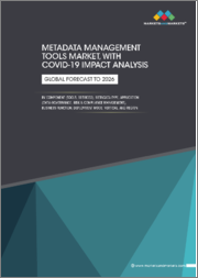 Metadata Management Tools Market with COVID-19 Impact Analysis, by Component (Tools, Services), Metadata Type, Application (Data Governance, Risk & Compliance Management), Business Function, Deployment Mode, Vertical, & Region - Global Forecast to 2026