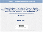 Global Keyboard Market with Focus on Gaming Keyboards (by Type, Connectivity & Region): Insights & Forecast with Potential Impact of COVID-19 (2021-2025)