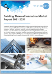 Building Thermal Insulation Market Report 2021-2031: Forecasts by Material, by Building Type, by Form, by End-use, Regional & Leading National Market Analysis, Leading Companies, and COVID-19 Recovery Scenarios