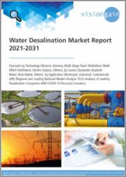 Water Desalination Market Report 2021-2031: Forecasts by Technology, by Source, by Application, Regional & Leading National Market Analysis, Leading Desalination Companies, COVID-19 Recovery Scenarios