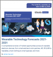 Wearable Technology Forecasts 2021-2031