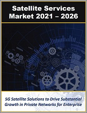 Satellite Services Market by Type (LEO, MEO, and GEO), Communications (Voice and Data), Solutions, Applications, Segments (Consumer, Enterprise, Industrial, and Government), and Industry Verticals 2021 - 2026