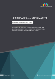 Healthcare Analytics Market by Type (Descriptive, Prescriptive, Cognitive), Application (Financial, Operational, RCM, Fraud, Clinical), Component (Services, Hardware), Deployment (On-premise, Cloud), End-user - Global Forecast to 2026