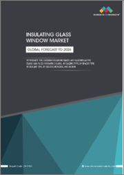 Insulating Glass Window Market by Product Type, Glazing Type (double glazed, triple glazed), Spacer Type, Sealant Type (silicone, polysulfide, hot melt butyl, polyurethane), End-Use Industry, and Region - Global Forecast to 2026