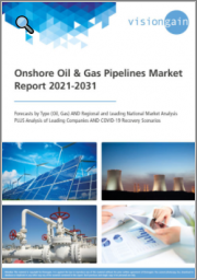 Onshore Oil & Gas Pipelines Market Report 2021-2031: Forecasts by Type (Oil, Gas), Regional and Leading National Market Analysis, Leading Companies, and COVID-19 Recovery Scenarios