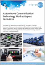 Automotive Communication Technology Market Report 2021-2031: Forecasts by BUS Module, by Application, by Vehicle Class, Regional & Leading National Market Analysis, Leading Companies, and COVID-19 Recovery Scenarios