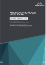 Airborne Countermeasure System Market by Application (Jammers, Missile Defence, and Counter Countermeasure), Platform (Military Aircraft, Military Helicopters, and Unmanned systems), Product and Region - Global Forecast to 2026