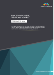 Electromagnetic Weapons Market by Product (Lethal Weapons, Non-lethal Weapons), Application (Homeland Security, Military), Platform (Land, Naval, Airborne), Technology (Particle Beam Weapons, Laser-induced Plasma Channel), and Region- Forecast to 2026