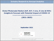Global Photoresist Market (ArF, KrF, I-Line, G-Line & EUV): Insights & Forecast with Potential Impact of COVID-19 (2021-2025)