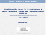 Global Wearables Market (by Product Segment & Region): Insights & Forecast with Potential Impact of COVID-19 (2021-2025)