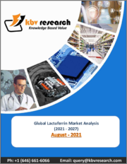 Global Lactoferrin Market By Function, By Application, By Regional Outlook, COVID-19 Impact Analysis Report and Forecast, 2021 - 2027