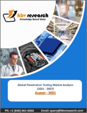 Global Penetration Testing Market By Offering, By Application, By Deployment Type, By Enterprise Size, By End User, By Regional Outlook, COVID-19 Impact Analysis Report and Forecast, 2021 - 2027