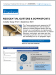Residential Gutters & Downspouts (US Market & Forecast)