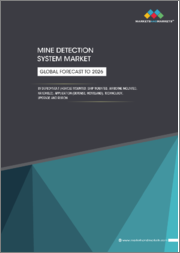 Mine Detection System Market by Application (Defence and Homeland Security), Deployment (Vehicle Mounted, Ship Mounted, Airborne Mounted and Handheld), Technology, Upgradation (OEMs and MROs), and Region - Global Forecast to 2026