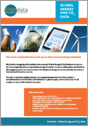 Global Energy & CO2 Database
