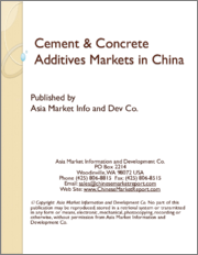 Cement & Concrete Additives Markets in China