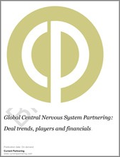 Global Central Nervous System Partnering 2010-2016: Deal trends, players and financials