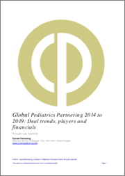Global Pediatrics Partnering 2010-2021: Deal trends, players and financials