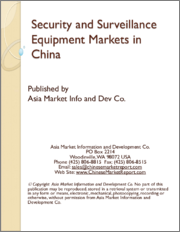 Security and Surveillance Equipment Markets in China