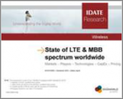 World LTE Market & MBB Spectrum: Markets at December 2014 & Forecasts to 2019 Markets - Players - Technologies - CapEx - Pricing