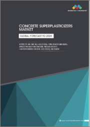 Concrete Superplasticizers Market by Type (SNF, SMF, MLF, PD and Others), by Application (Ready-Mix, Precast, Shotcrete, High Performance, Self-Compacting, and Others), and by Region - Global Trends and Forecast to 2020